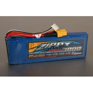 ZIPPY Flightmax 3000mAh 3S1P 20C li-pol