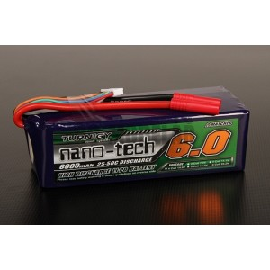 Turnigy nano-tech 6000mah 6S 25~50C